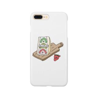 ヨピリズムストアのフルーツさんにん Smartphone cases
