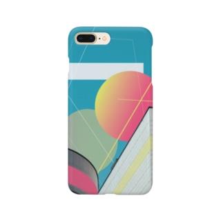 """図形の思索 """"expansion"""" Smartphone cases"""