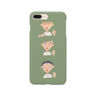 顔がおっこちた。 Smartphone cases