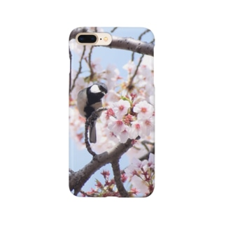お花見をすることり Smartphone cases