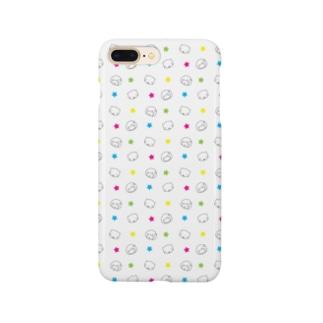 みーちゃんパターン03 Smartphone cases