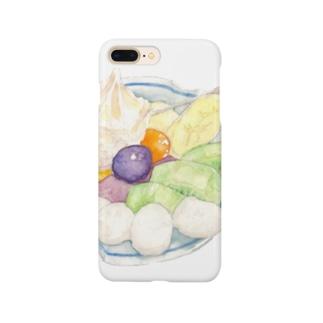 フルーツクリームあんみつ Smartphone cases