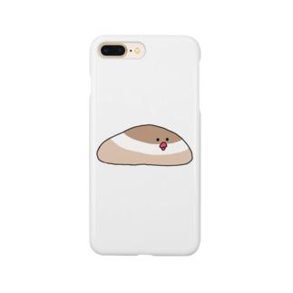 シナモン文鳥 Smartphone cases