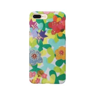 春の草むら Smartphone cases