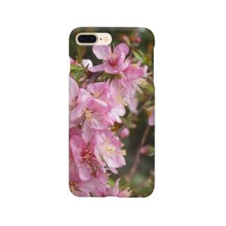 日本の花:ユスラウメ? Nanking cherry flowers (?) Smartphone cases