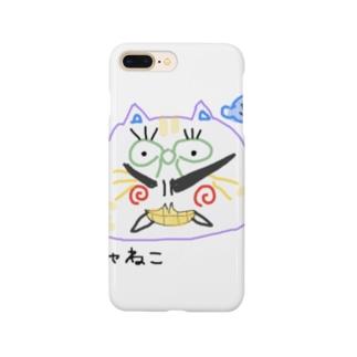 ぽしゃ猫グッズ Smartphone cases