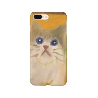 ネコのカカ Smartphone cases