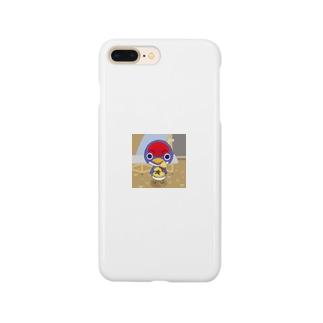 あつ森 どうぶつの森 ツバクロー イラスト Smartphone cases