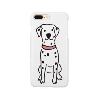 おすわりダルメシアン Smartphone cases