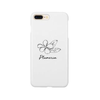 プルメリア Smartphone cases