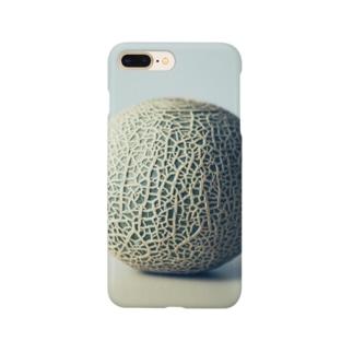 メロンステイホーム Smartphone cases