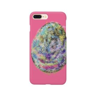 恐竜の卵 ピンク Smartphone cases