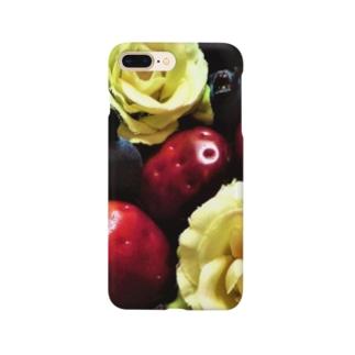 いちごとばらとブルーベリー Smartphone cases
