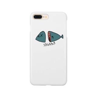 不思議な魚 Smartphone cases