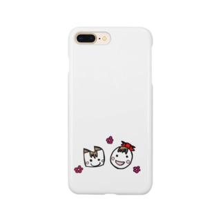 たま子とねこ Smartphone cases