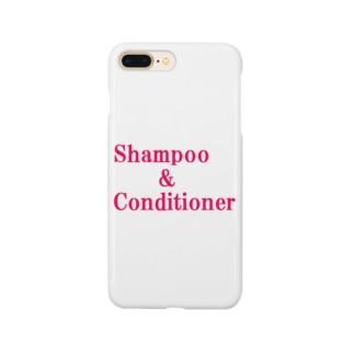 シャンプー コンディショナー Smartphone cases