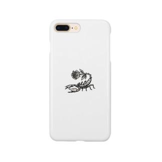 モノクロサソリ Smartphone cases