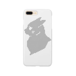 イカミミネコサン(バストアップ) Smartphone cases