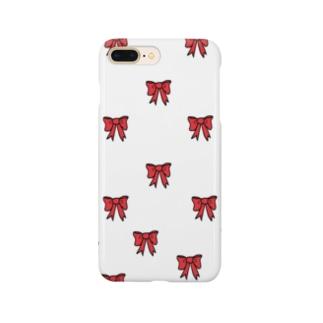 リボン柄 Smartphone Case