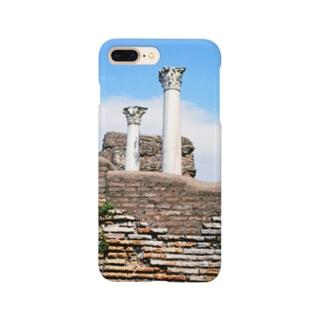 イタリア:オスティアの神殿遺跡 Italy: view of Ostia Smartphone cases
