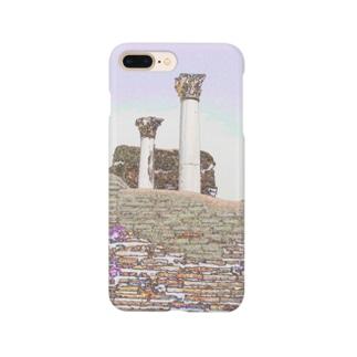 CG絵画:オスティアの神殿遺跡 CG art: Ostia Smartphone cases
