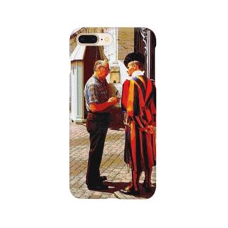 CG絵画:バチカンのスイス人衛兵 CG art: Vatican Guard Smartphone cases