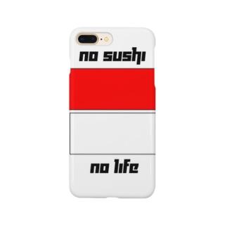 no sushi, no life Smartphone cases