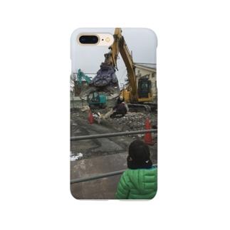 カッター 重機 Smartphone cases