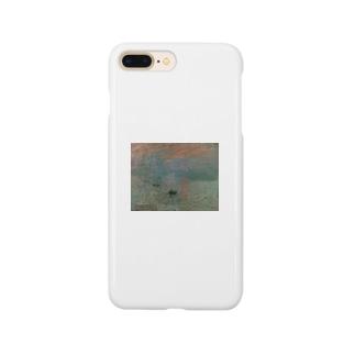印象・日の出(モネ) Smartphone cases