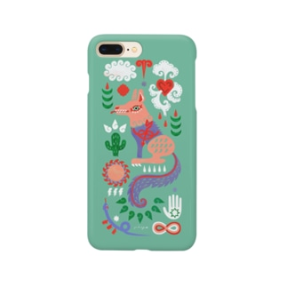 COYOTE  【MINT GREEN】 Smartphone cases
