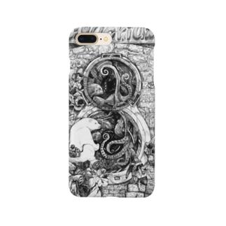 二眼レフ水槽 Smartphone cases