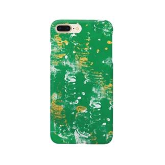 夏の草むら Smartphone cases