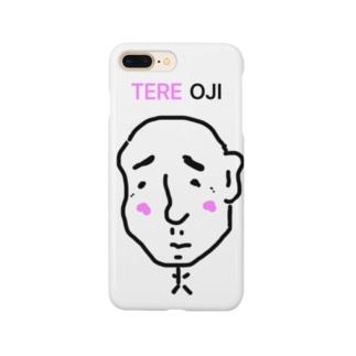 たろさんのTERE(照れてる)OJI(オジサン) Smartphone cases