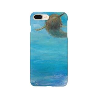 月ノ子の森に恋してのムラナギ/アマビエの来る日 Smartphone cases