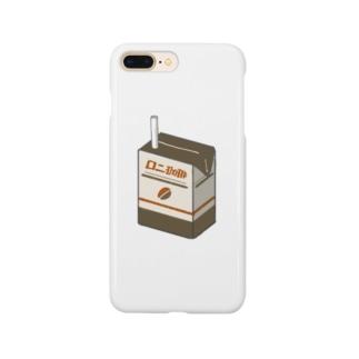 珈琲パック Smartphone cases