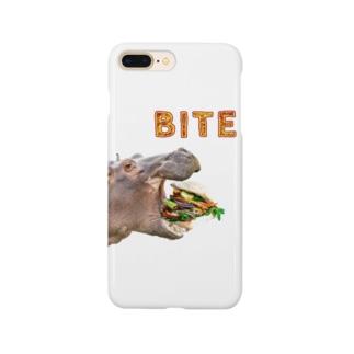 RDesignのBITE くり抜きversion Smartphone cases
