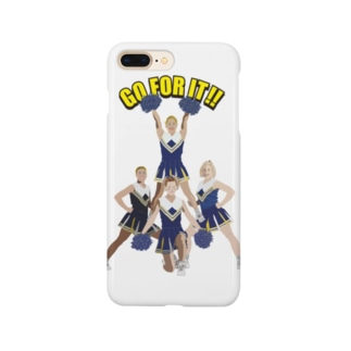 Drecome_Designのチアガール Smartphone cases