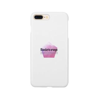 マンダリンオレンジスマホケース Smartphone cases