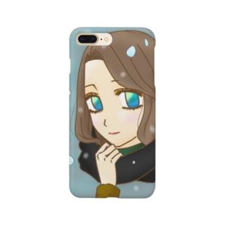 冬の女 Smartphone cases