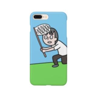 ちょうちょをつかまえる Smartphone cases