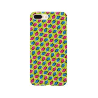 ネズミの逃走【錯視】 Smartphone cases