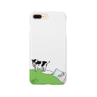 いちごみるく🍓 全身タイツのきよみ Smartphone cases