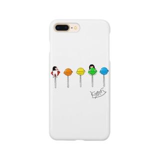 キャンディー🍭 全身タイツのきよみ Smartphone cases