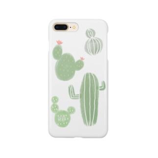 サボテン4 Smartphone cases