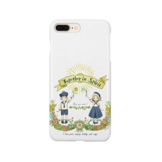 ☆新追加・スマホケース Together in Spirit     コロナ医療チャリティーグッズ   Smartphone cases