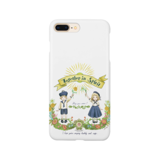 Loopmarkの☆新追加・スマホケース Together in Spirit     コロナ医療チャリティーグッズ   Smartphone cases