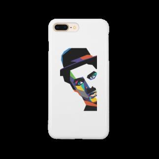 Cubki-monoのチャップリン Smartphone cases