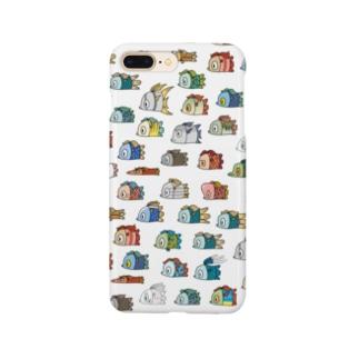 アマビエ散らし Smartphone cases