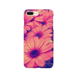 水滴つややくお花 Smartphone cases