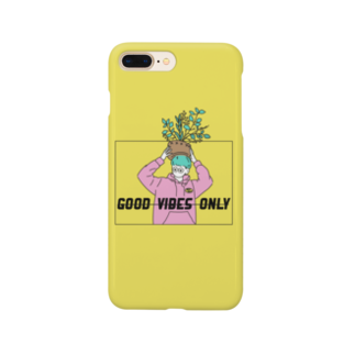 EHWA1996のGOOD VIBES ONLY2 Smartphone cases